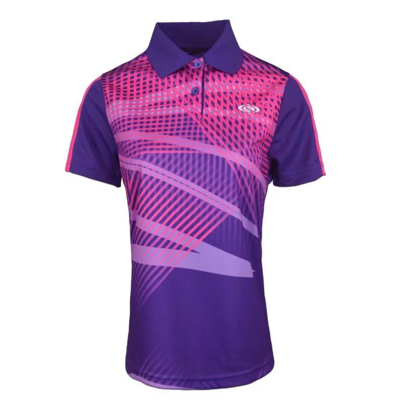 Compre Mujeres Ropa De Tenis Ropa Deportiva Bádminton De Secado Rápido  Camisas POLO 2ba6692b2c12f
