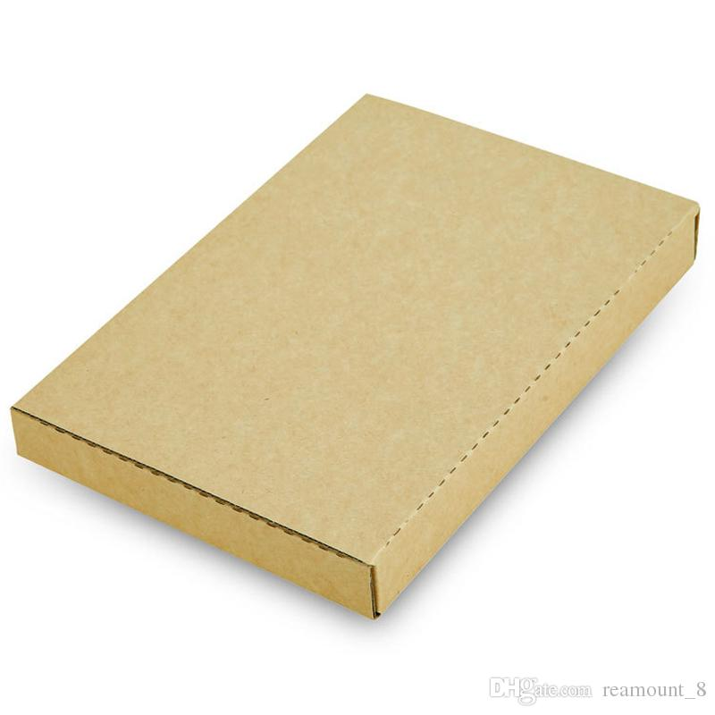 Custom Handmade Folding Kraft Paper Box For Phone Case Hard Delivery Box For Cell Phone Cover Gift Packaging Box