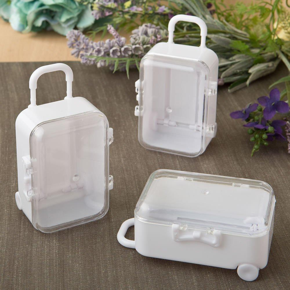 Travel Themed Mini Travel Suitcase Trolley Wedding Favors Party ...