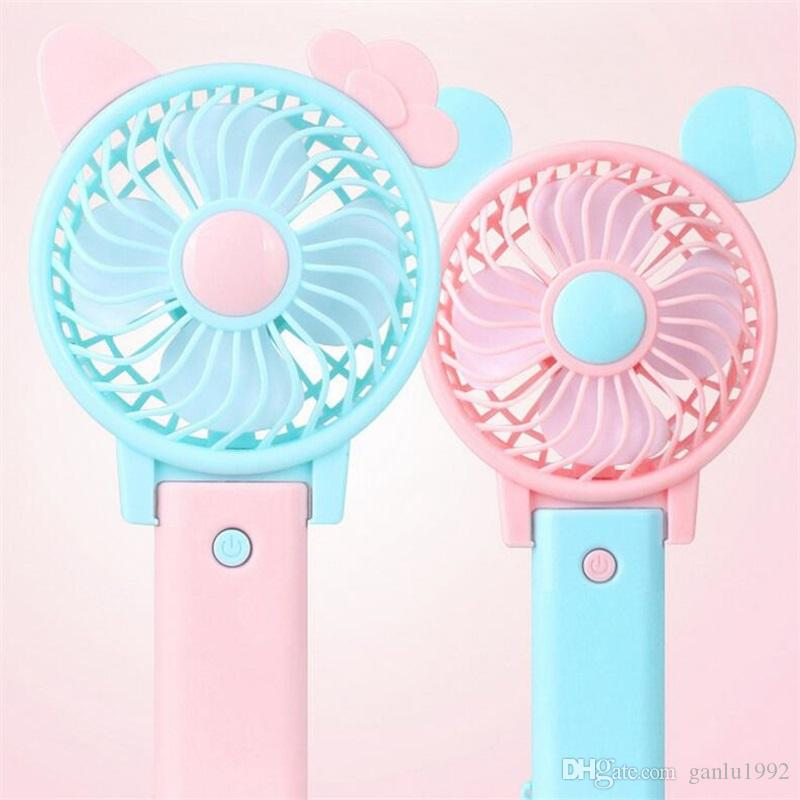 2018 Usb Charging Mini Hand Carry Small Electric Fan Summer Ultra Quiet  Folding Office Fans Student Small Electric Fanner X From Ganlu1992, $3.28 |  Dhgate.