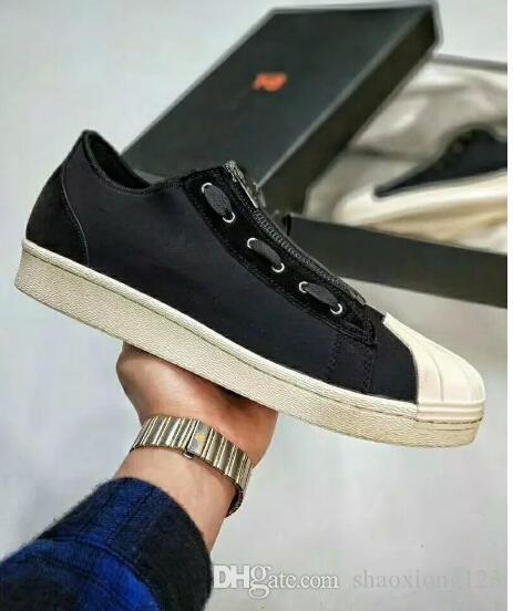 manchester great sale cheap price cheap footlocker finishline New Y-3 Superstar Stan Smith Zip Flat Casual Shoes for Men and Women Y3 Runner Running Shoes Low Top Sneakers Couples Walking Shoes sale pre order 2BWuIaKEI