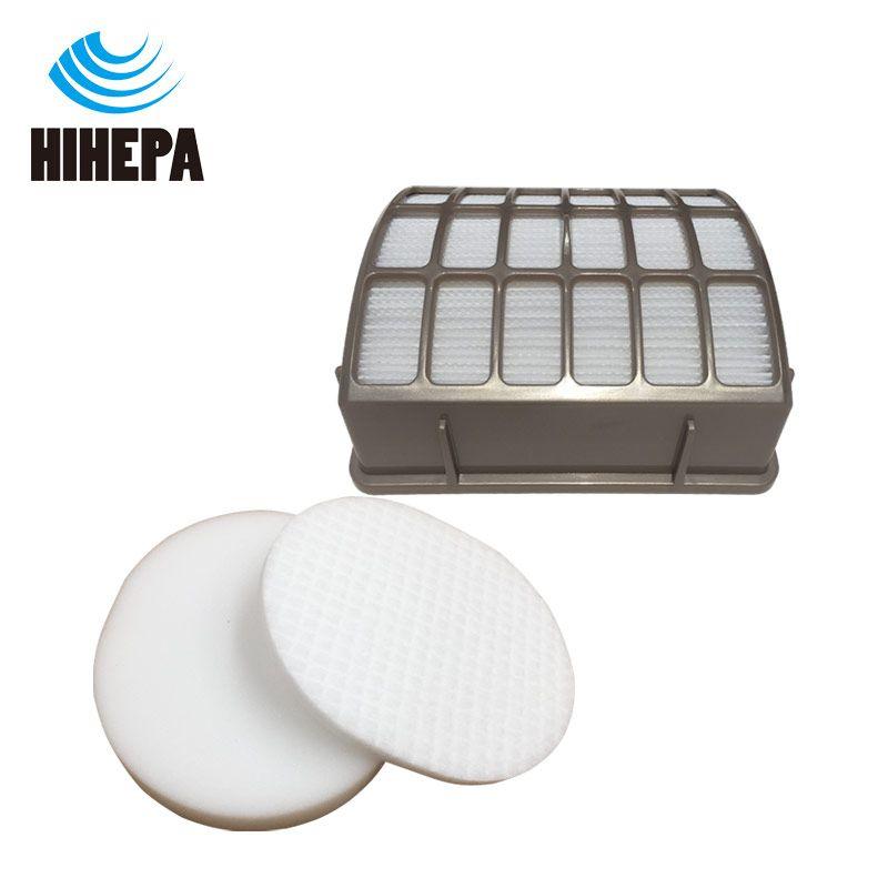 foam & felt hepa filters work with shark navigator nv70 nv80 uv420 ...