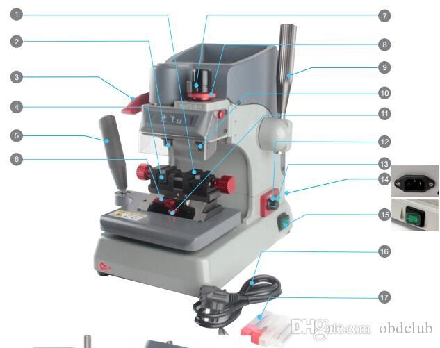 Yeni L2 Dikey Anahtar Kesme Makinesi Manuel Anahtar Çoğaltma Makinesi