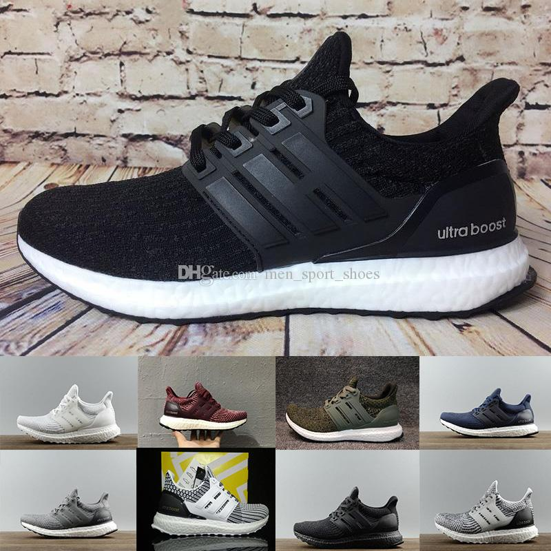 afefd4a134b Ultraboost 3.0 4.0 Running Shoes Uncaged 3.0 III Primeknit White ...