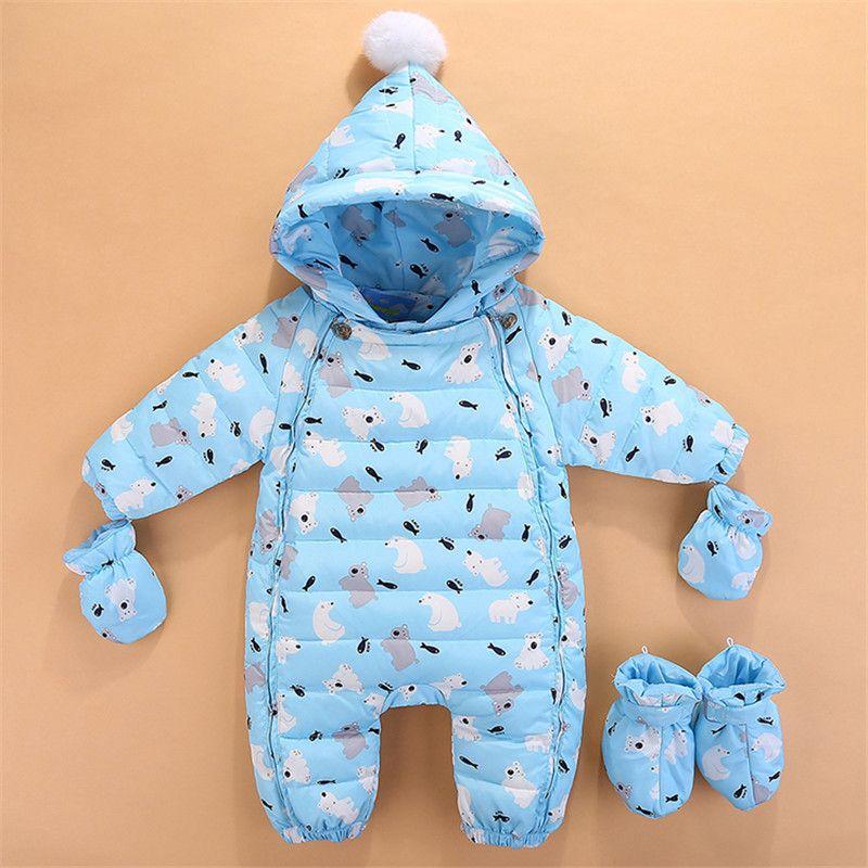 b2171981ca58 2019 Baby Winter Rompers Newborn Baby Girls Boys Jumpsuit Clothing Sets  Toddler Bebe Hoodies Clothes Christmas Clothing Baby Rompers From  Babyhouse3