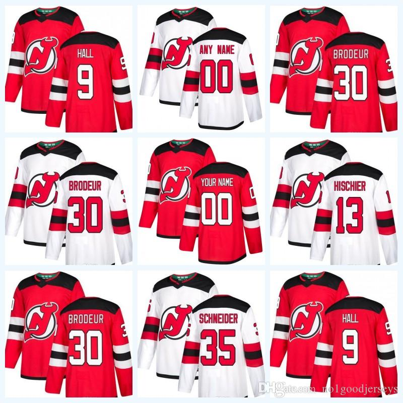 2018-19 Season Heritage Jersey New Jersey Devils 30 Martin Brodeur 9 ... 1252e8e8f
