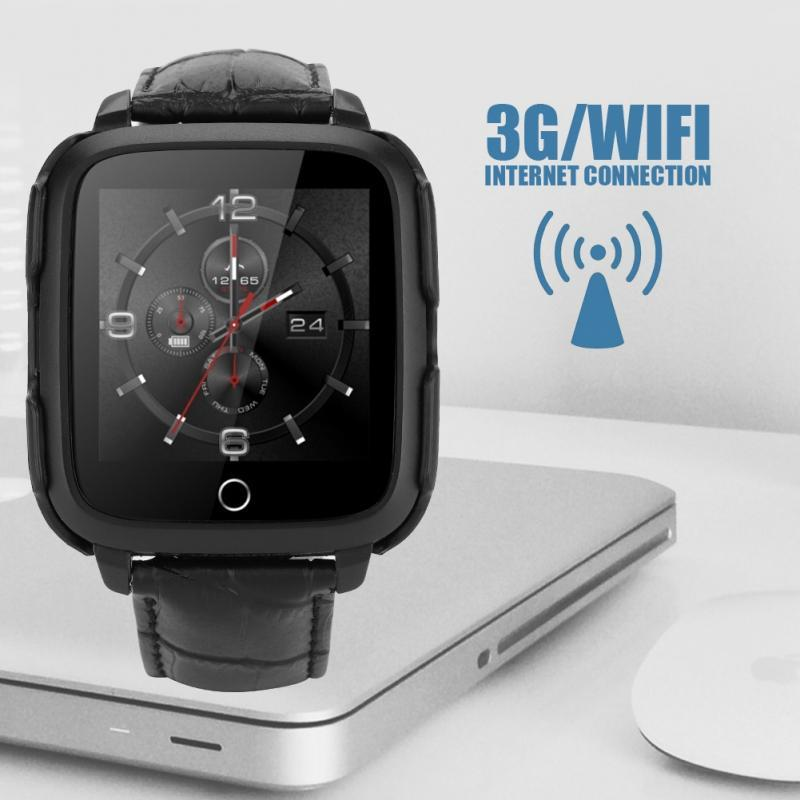 Smart Watch Android 5.1 Smartwatch Men Sport Support SIM Card GPS 3G WIFI Internet Voice Recording Pedometer Music Playing