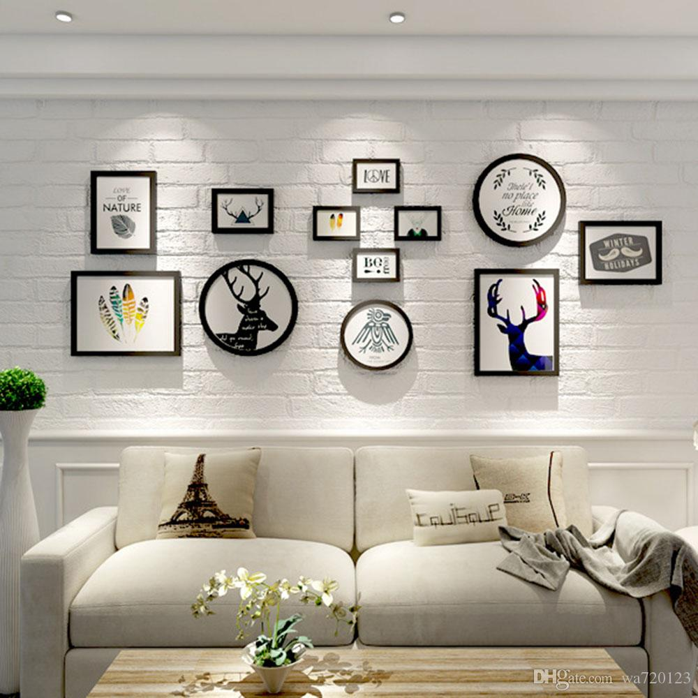 Großhandel Frame Bild Holz Foto Dekor Wand Home Rahmen Zimmer Hot ...