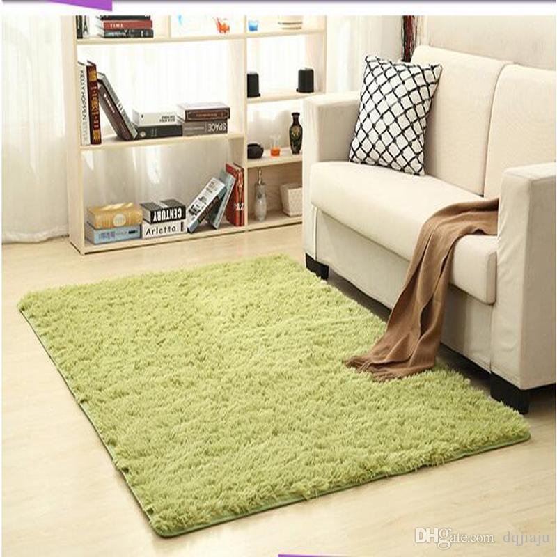 Hot Sale Non Slip Carpet Fluffy Rugs Anti Skid Shaggy Area Rug
