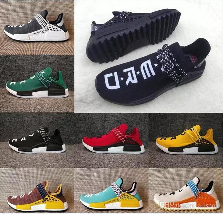 dd7bbece1fe6 NMD Human Race Runner Primeknit Sales White Red Blue NMD Runner Sports Shoes  Men NMD Running Boost Training Sneaker Cheap NMD Running Shoes Mens Shoes  ...