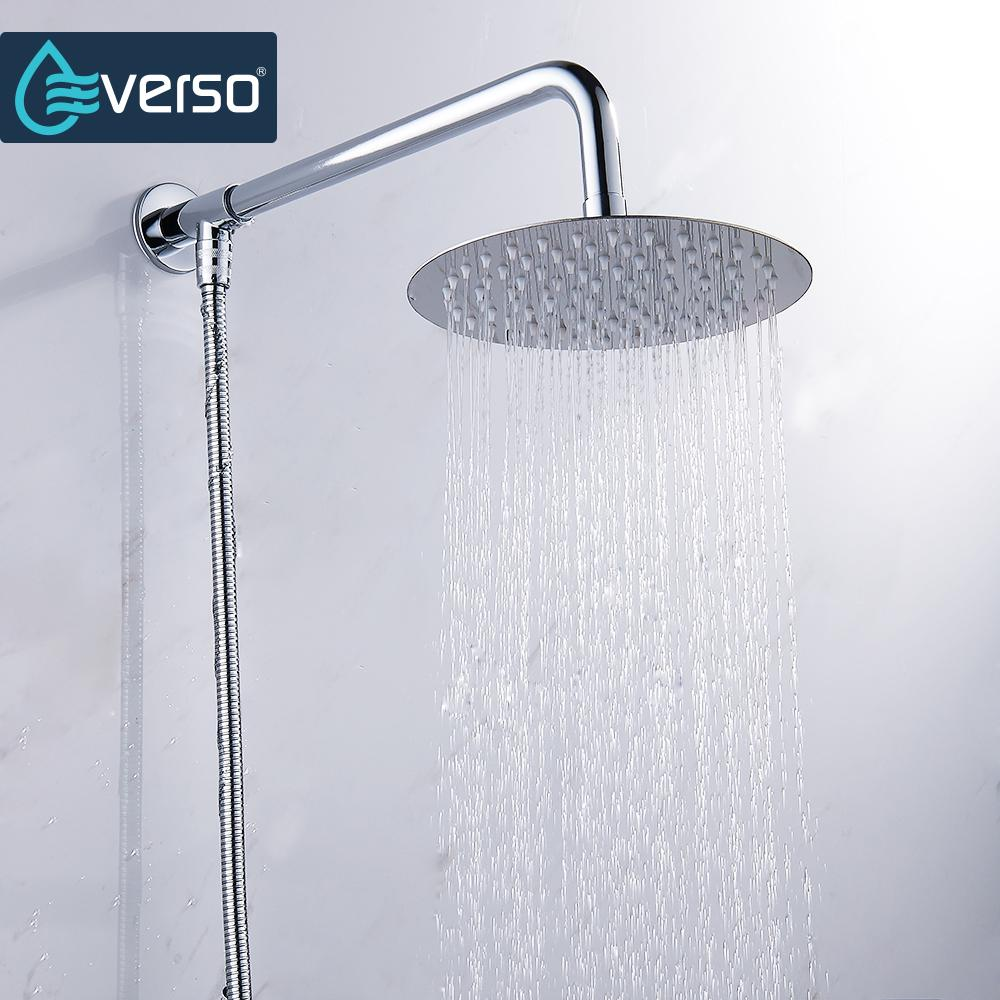 2019 Everso 12 10 8 6 4 Inch Stainless Steel Ultra Thin Waterfall