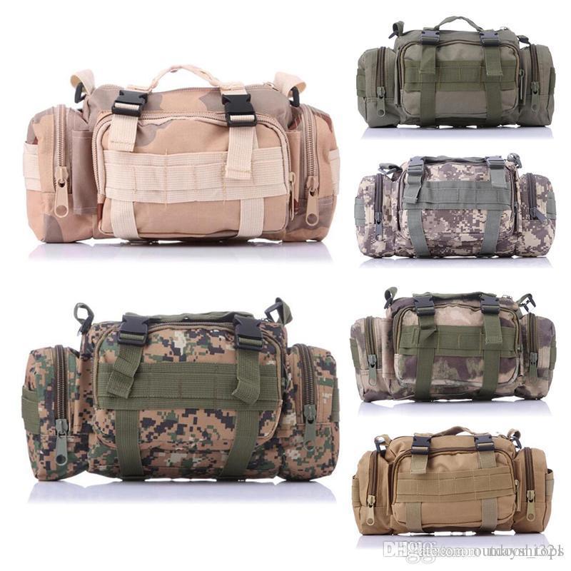 8330b0274a69c Großhandel Canvas Outdoor Bag Pack Multifunktions Camo Wandern Reisen  Rucksäcke Handtasche Molle Taschen Tactical Sling Bag Schultertasche Von  Outdoor tops