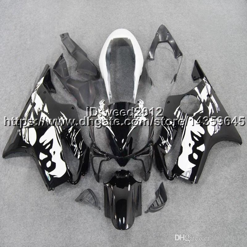 5Gifts+Custom Injection mold Woman flower motorcycle hull for HONDA CBR 600F4i 2004 2005 2006 2007 CBR600 F4i 04-07 ABS Fairings body kit