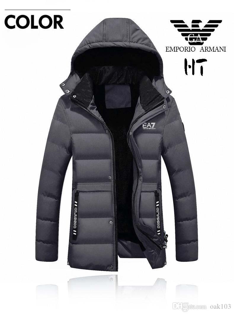 la meilleure attitude f95e0 c5afb Épaissir chaud hiver long manteau veste pour hommes col de fourrure Parkas  manteau à capuche taille Plus manteau coton rembourré veste mâle M-4XL