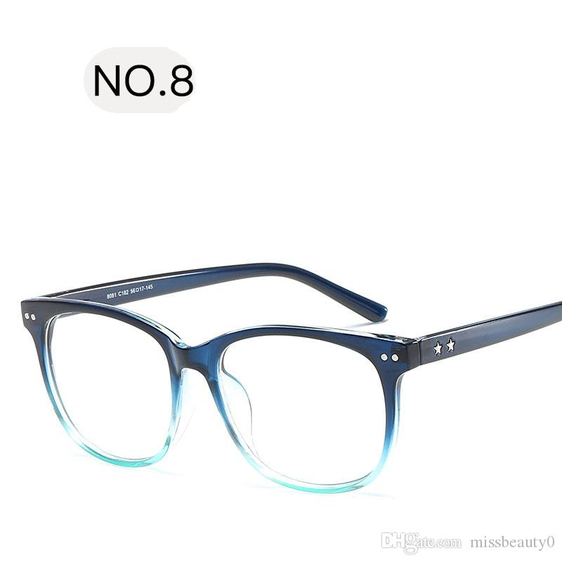 e14a24e6ab 2018 Round Spectacle Frame for Female Grade Computer Glasses Fashion  Reading Cat Eye Glasses Women Optical Prescription Eyewear Eyeglasses  Eyeglasses Frame ...
