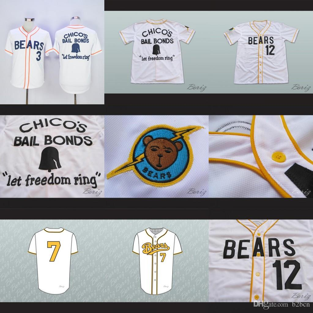 Baseball-other Responsible The Bad News Bears #12 Tanner Boyle Baseball Jersey M Fan Apparel & Souvenirs