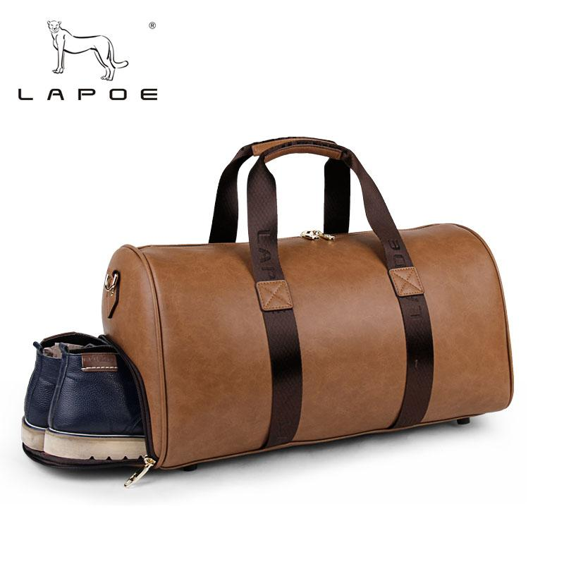 9e09c6b13c0b LAPOE Brand Men S Fashion Extra Large Travel Bag Package Large Capacity  Portable Shoulder Leather Duffel Bag Men Travel Bags Camouflage Suitcase  Suitcase ...