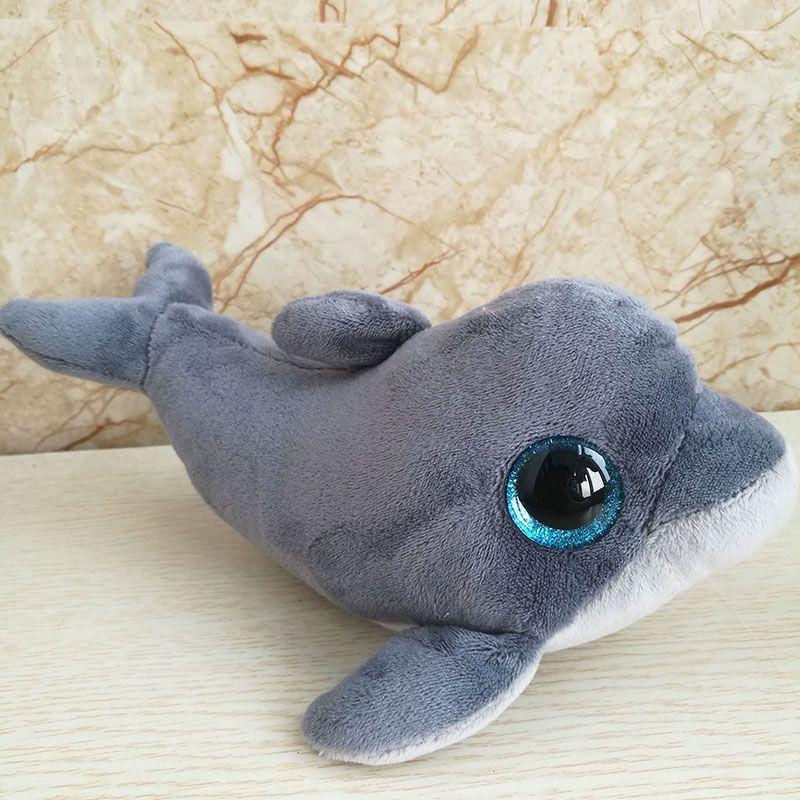 18bf9799bf5 2019 2018 New 15 Cm 6 Inch Ty Beanie Boos Echo Dolphin Plush Toy Cute  Stuffed Animal Doll Soft Kids Toy Birthday Gift From Bradle