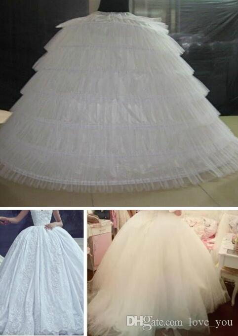 الشحن مجانا جودة عالية تنورات ثوب الكرة ثوب الزفاف ستة لفات كامل لحفلة موسيقية حفلة موسيقية ثوب