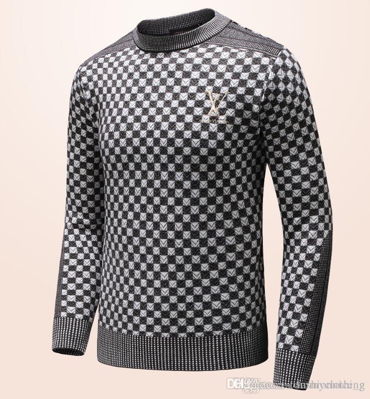 dce2ef37e716f2 Großhandel Neue Luxus Mode Frauen Und Herren Woolen Pullover Jacke Casual  Tops Marke Unisex Strickmantel G4271 Von Tommyclothing