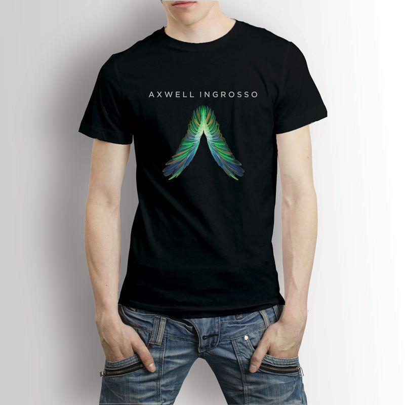 dj axwell and ingrosso logo electro house music t shirt men s tee
