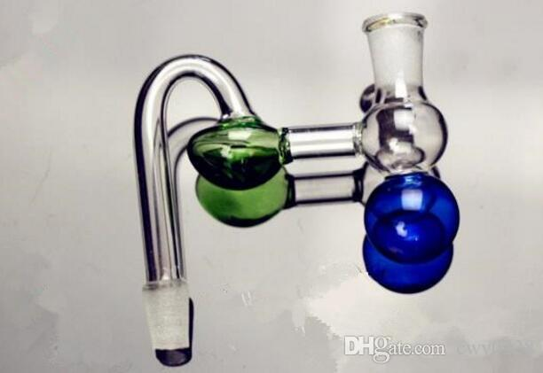Gourd pot Wholesale Glass bongs Oil Burner Glass Water Pipes Oil Rigs Smoking Free