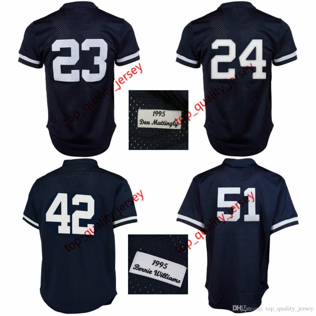62385c17c ... mens new york don mattingly 1995 cooperstown mesh batting practice  jersey navy tino martinez mariano rivera