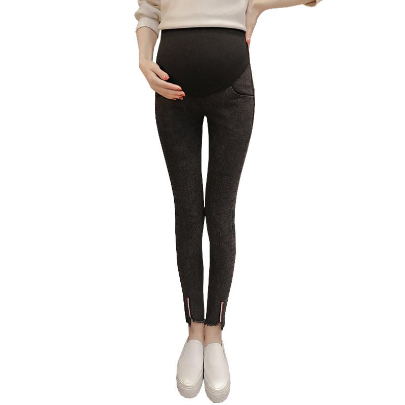 4e4744bfb3be1 2019 Prop Belly Denim Jeans Maternity Pants For Pregnant Women Clothes  Nursing Leggings Pregnancy Pencil Pant Strench Jeans Gravida From  Cover3085, ...