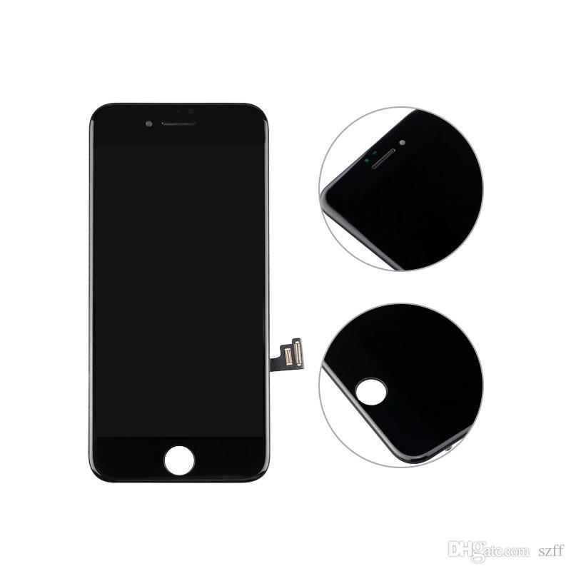 Kopie qualität b c für iphone 5 5c 5 s 6 6 s 6 sp 6 p 7 p lcd display mit touchscreen digitizer ersatz full assembly