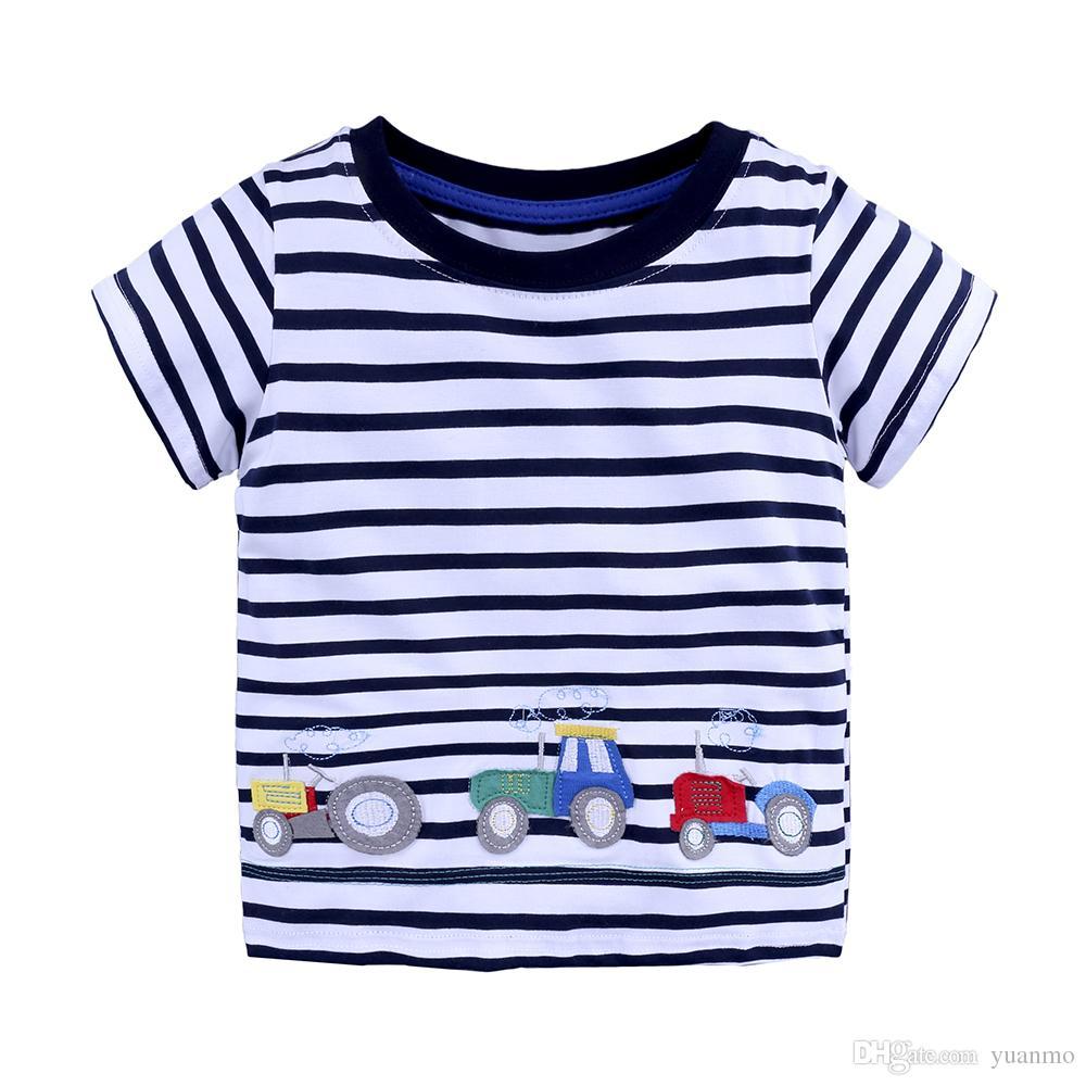 f6df04202 2019 Cartoon Children T Shirts Boys Kids Summer T Shirt Designs Teen ...