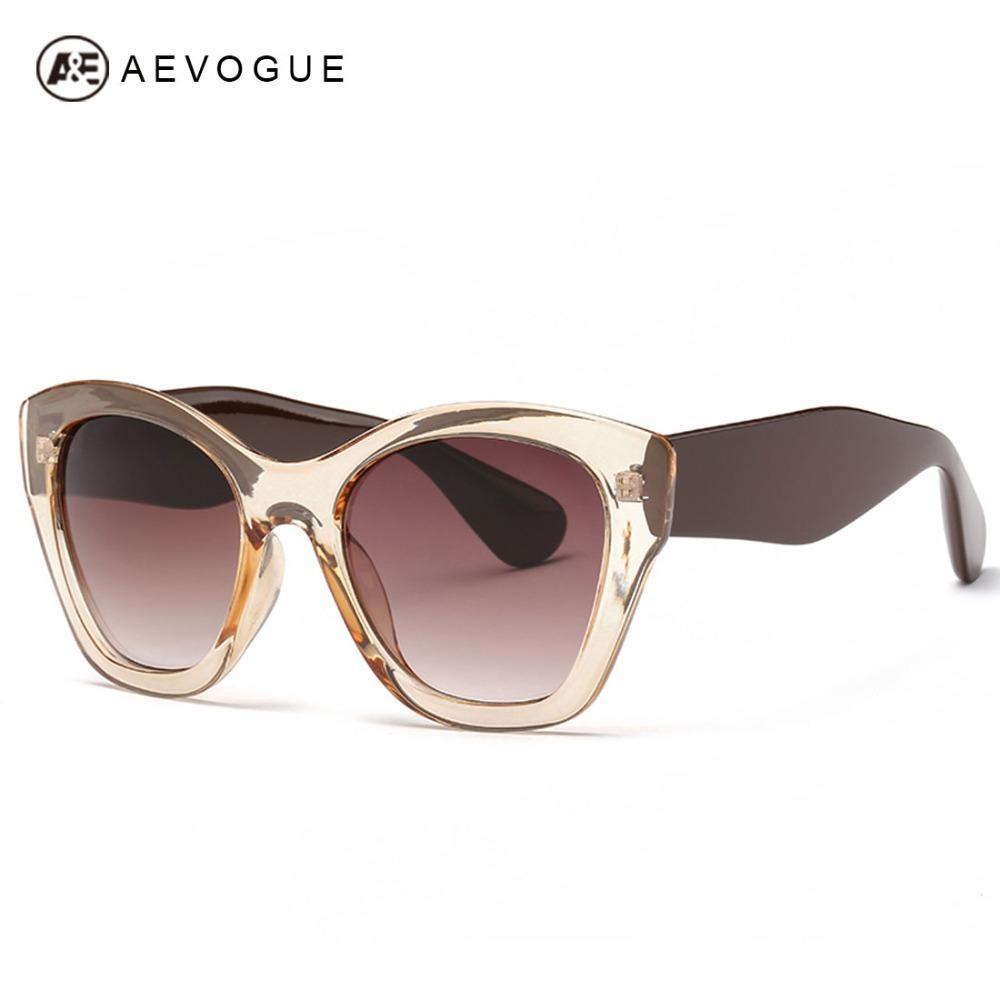 d03d00963a Compre Aevogue Más Nueva Marca De La Mariposa Eyewear Gafas De Sol De La  Manera De Las Mujeres Venta Caliente Gafas De Sol De Alta Calidad Oculos  Uv400 ...