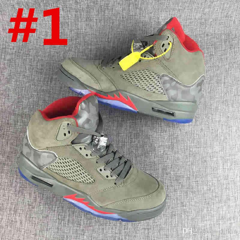 5 Basketball Shoes 2018 New 5s metallic Gold White Cement OG Black Cheap big boy Basketball Athletic Shoes With Box