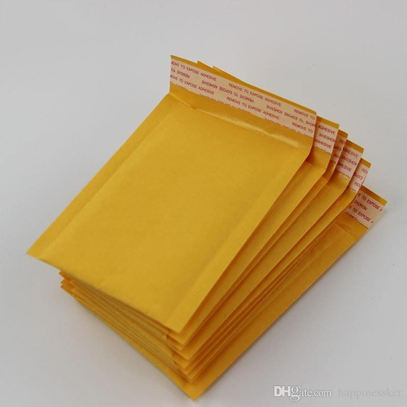 150*180mm Kraft Bubble Mailers Mailing Padded Envelopes Bags Wrap Bags Pouches Packaging Bubble Bags