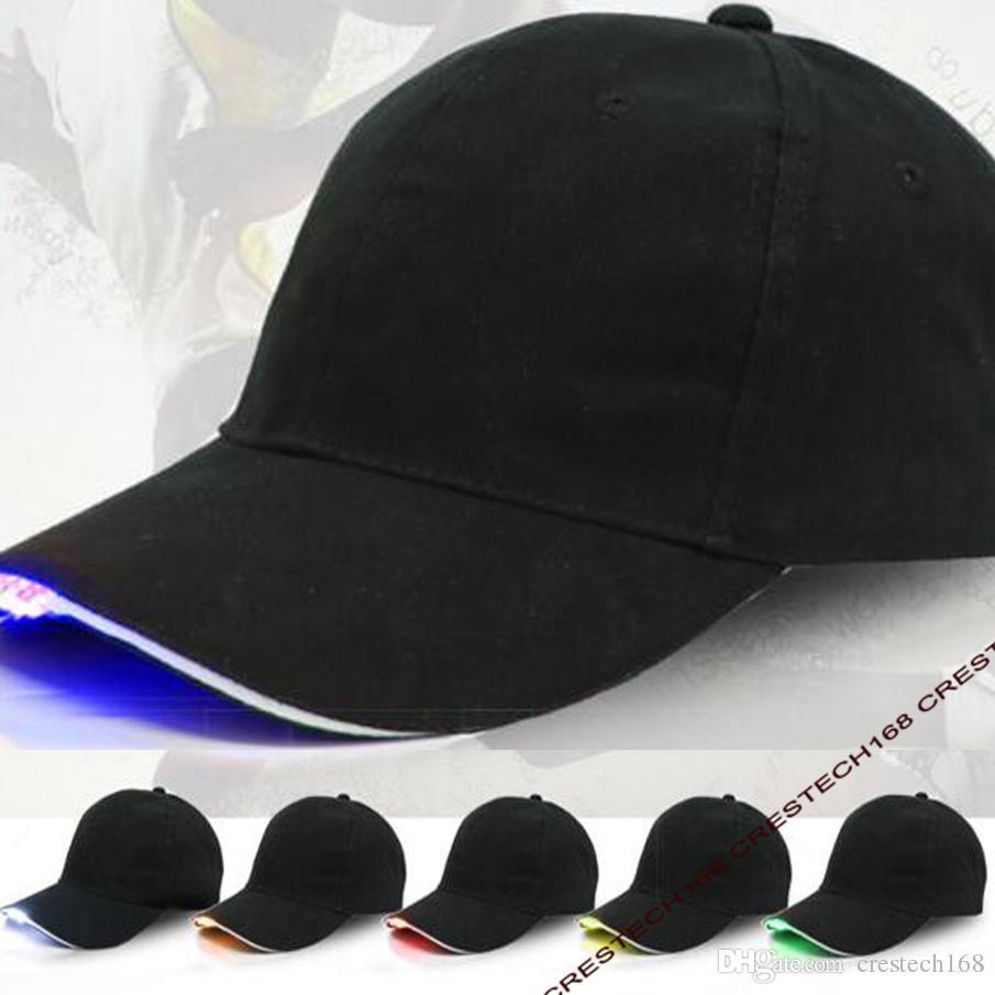 5 leds LED Hat Mãos Livres LED Boné de Beisebol Chapéu para Jogging Ao Ar Livre, Camping, Caminhadas, Festa de Hip Hop, pesca