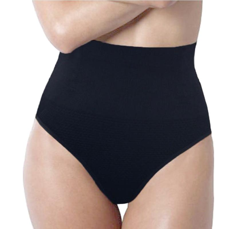 96dd011bba LELINTA High Waist Women Slimming Abdomen Hip Body Corset Control Shaper  Thong Underwear Brand Waist Trainer Tummy Panties Panties Fishnet Underwear  Pack ...