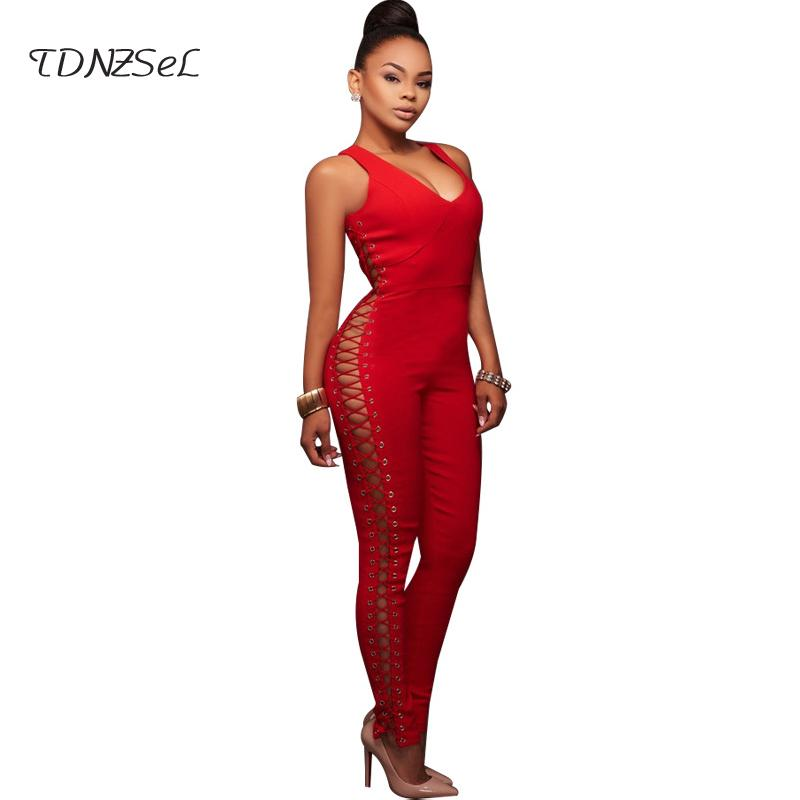 68031c6515775 Cheap Long Sleeve Pant Rompers Women Best Tight Sexy Club Women Jumpsuits