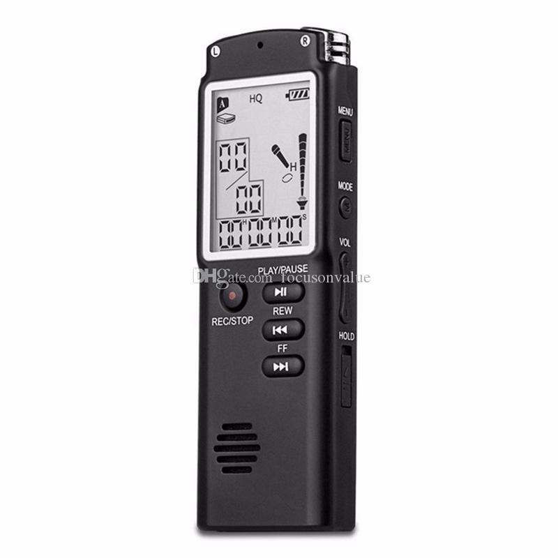T60 Professional 8GB Time Display Recording Pen Digital Voice Audio Recorder portable mini Dictaphone with MP3 Player