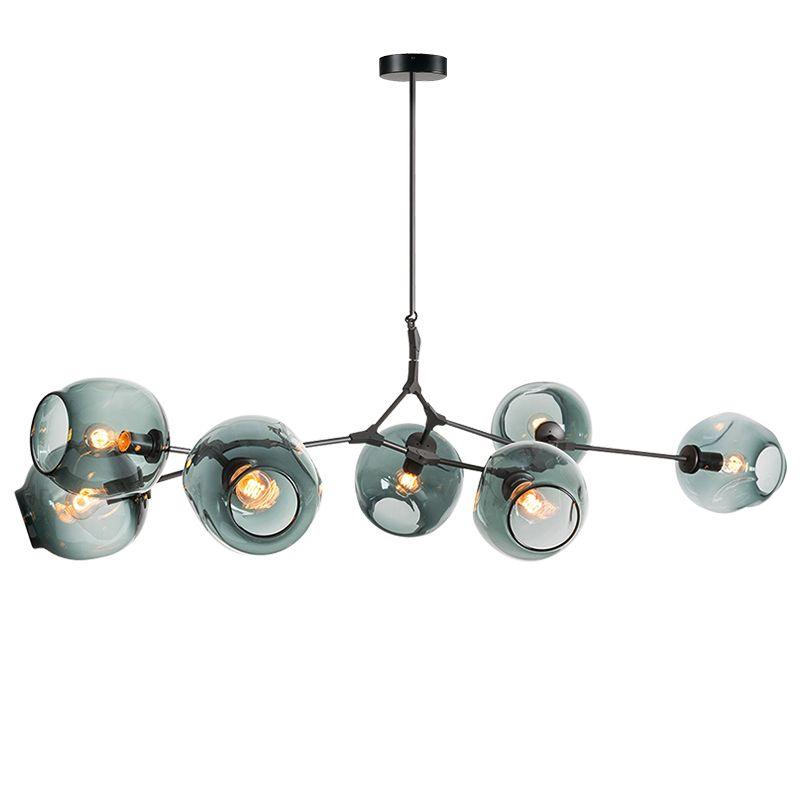 Lustres éclairage moderne nouveauté suspension lampe arbre naturel suspension noël lumière hôtel salle à manger éclairage