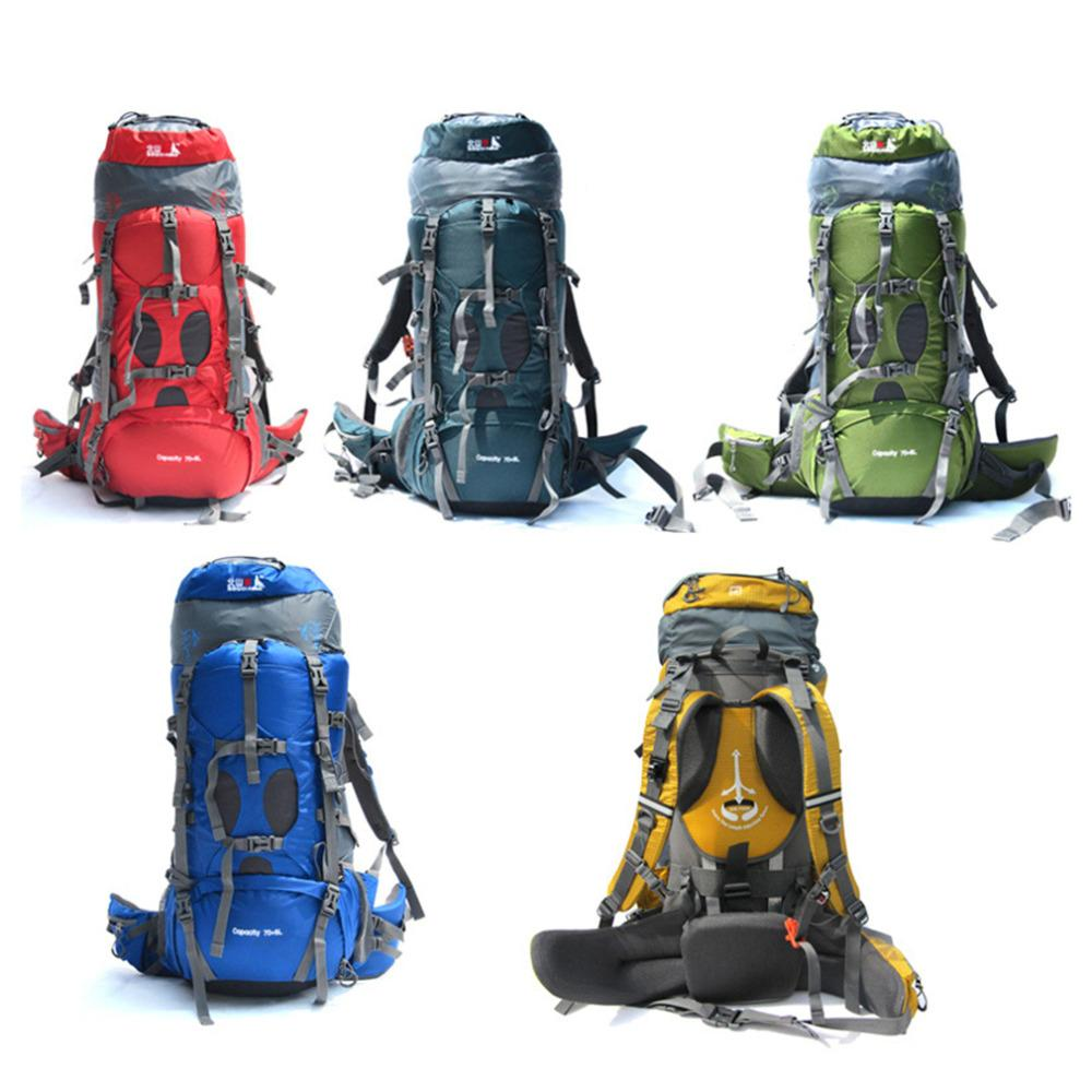 75L Camping Bags Backpack Shop Online Professional Hiking Backpack Unisex  Outdoor Rucksacks Sports Bag Drop ShippingBest Price Dakine Backpack Best  Backpack ... e3601c1904