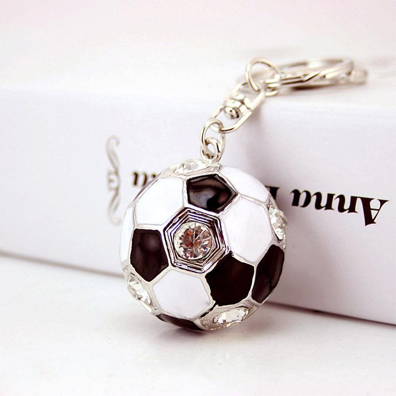 Crystal Football Soccer Keychains Car Key Chain Holder Bag Charm Womens  Luxury Keychain Keyring Key Chains Women Gift Llavero Picture Keychains  Make Your ... 1a7d4fa6b0