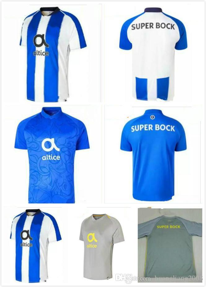 bda4c310c19 2019 Best Qualit Adults Jersey 2017 2018 Porto Men Soccer Jerseys 17 18  MAREGA SILVA Home Away 3rd 2018 Porto FC Customized Football Shirts From ...
