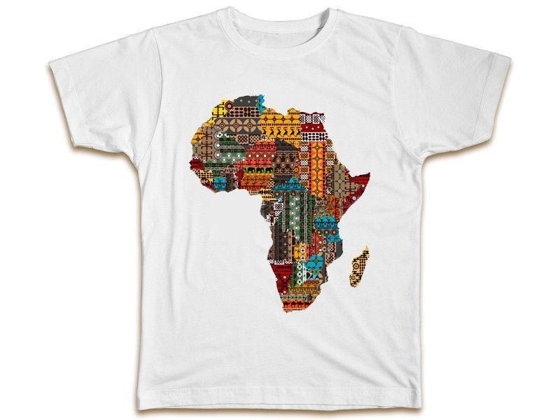 d8542457f Cool Africa Map T Shirt Birthday Gift Idea Cool Fashion Unisex Top Printing  On T Shirts Crazy T Shirts From Amesion09, $12.08  DHgate.Com