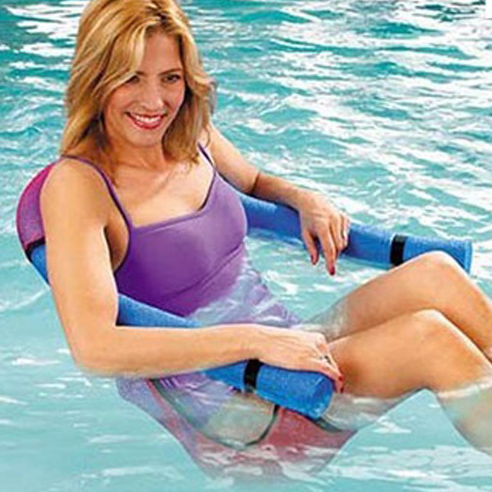 1Pc noodle pool floating chair 6.5x150cm Swimming Pool Seats multi colors  amazing floating bed chair noodle