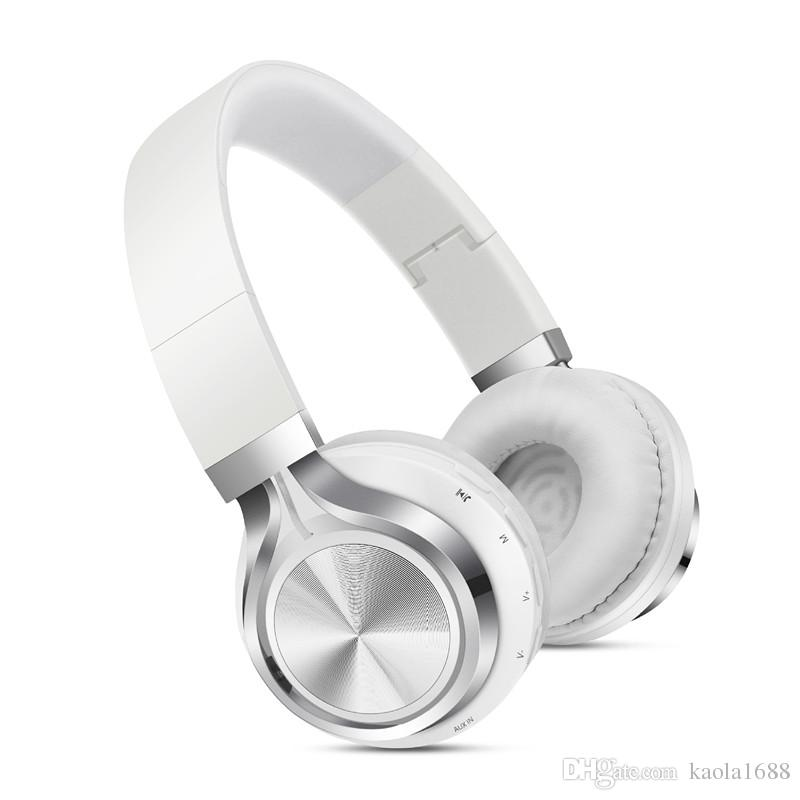 8b442f78bbd Foldable Over-Ear Wireless Headphone Built-in Mic Stereo Sound ...