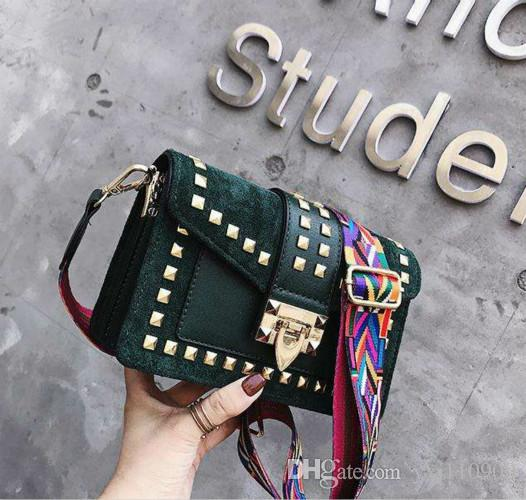 8aa549fd4418 2018 Famous New Style Designer Fashion Shoulder Bag Luxury Plain ...