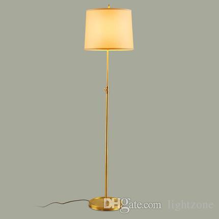 Großhandel Dimmable Führte Stehlampen 110v 240v Runde American Retro