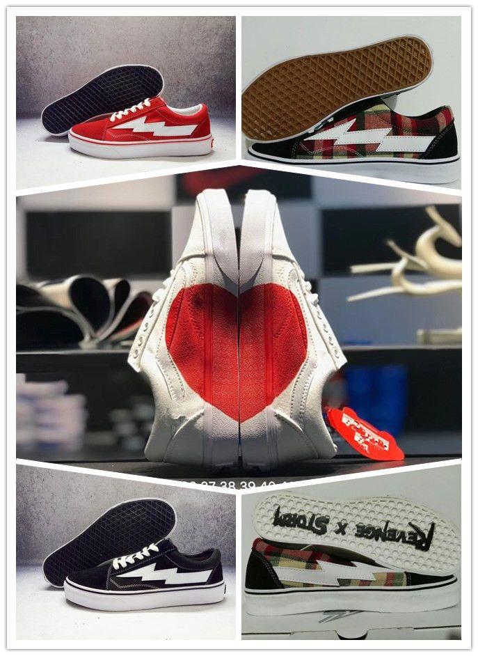Love Revenge X Storm Old Skool Canvas Men Shoes Women Sneakers Skateboarding Sports Shoes Women Skate Shoes Red heart Sport Boots discount original vbEtfRsN