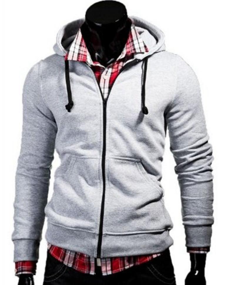 Весна и лето новые взрывы внешней торговли Европа и Соединенные Штаты Америки вентилятор с капюшоном молния свитера свитер Мужские кофты