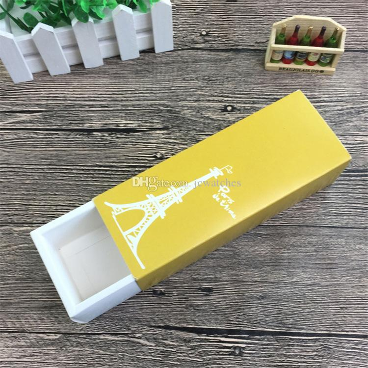 19*7*5cm Colorful Cute Girl Macaron Box Baking Packaging Box Cake Pastry Cookies Chocolate Box Candy Jewelry Storage Boxes Wholesale