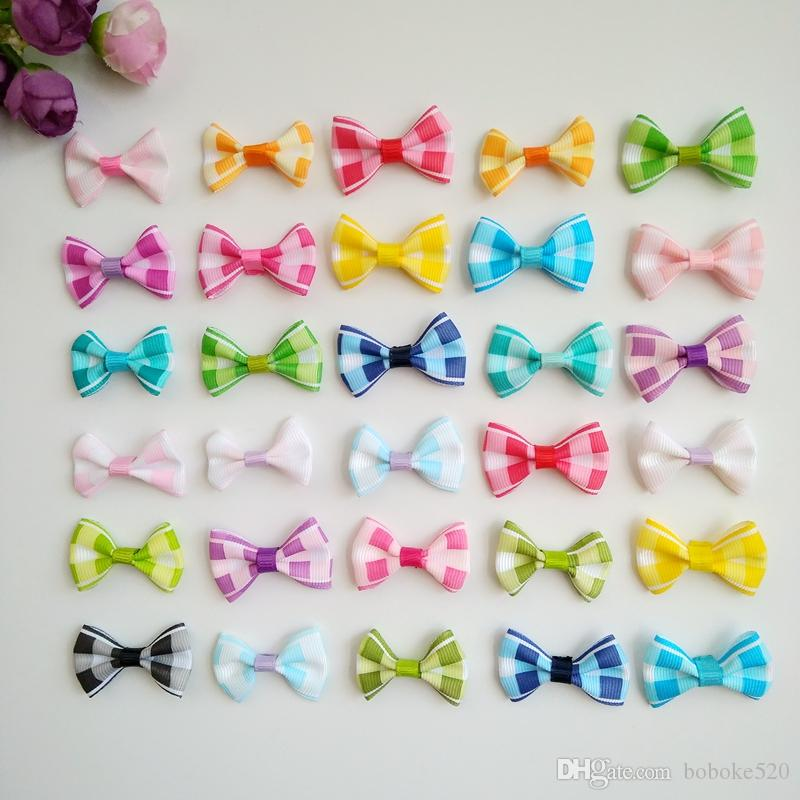 ac48dee1cd1f 1.4inch Mini Small Bows Hair Clips Baby Bowknot Hairpin Children Boutique  Barrettes For Girls Kids Hair Accessories Hair Accessories For Baby Vintage  ...